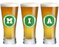 Mia lager logo