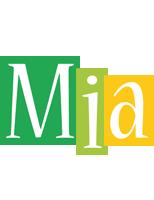 Mia lemonade logo