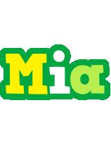 Mia soccer logo