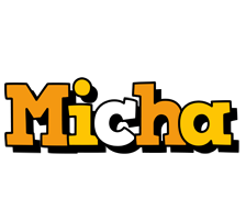 Micha cartoon logo