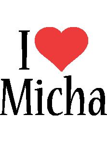 Micha i-love logo