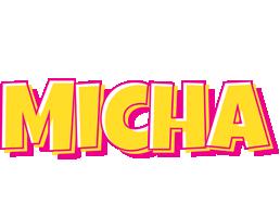 Micha kaboom logo
