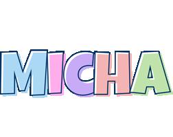 Micha pastel logo