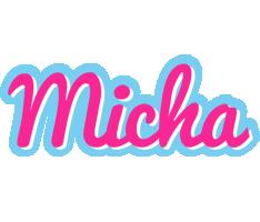 Micha popstar logo