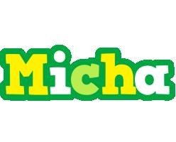 Micha soccer logo