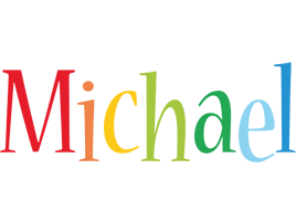 Michael birthday logo