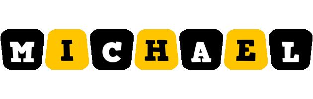 Michael boots logo