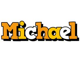 Michael cartoon logo