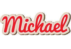 Michael chocolate logo