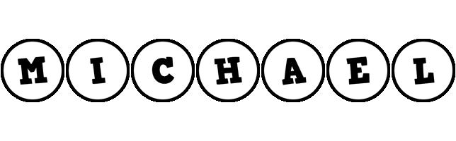 Michael handy logo