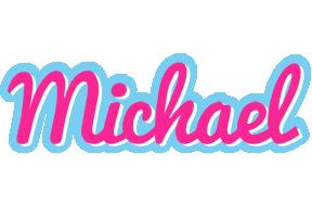 Michael popstar logo