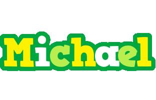 Michael soccer logo