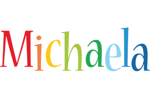 Michaela birthday logo