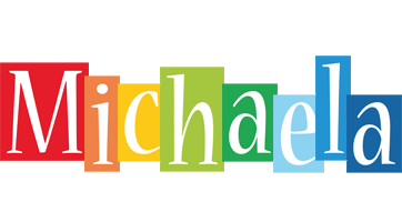 Michaela colors logo