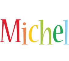 Michel birthday logo