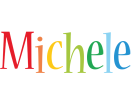 Michele birthday logo