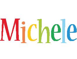 Michele birthday logo