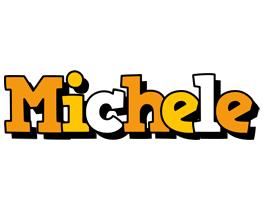 Michele cartoon logo