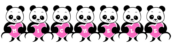 Michele love-panda logo