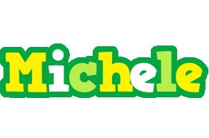 Michele soccer logo