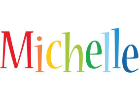 Michelle birthday logo