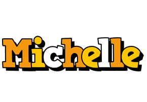 Michelle cartoon logo