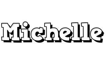 Michelle snowing logo