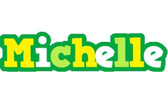 Michelle soccer logo
