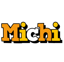 Michi cartoon logo