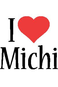 Michi i-love logo
