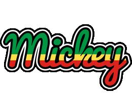 Mickey african logo