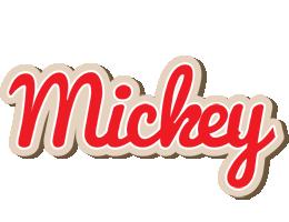 Mickey chocolate logo