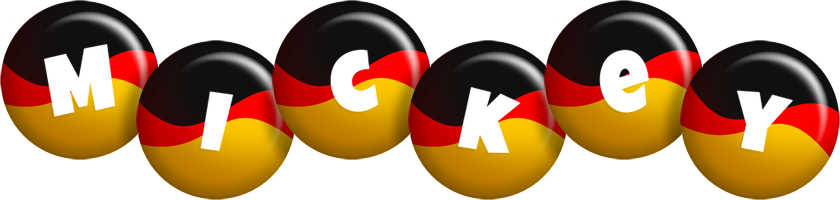 Mickey german logo
