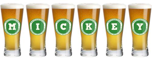 Mickey lager logo