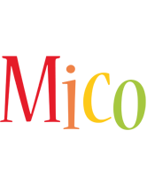 Mico birthday logo