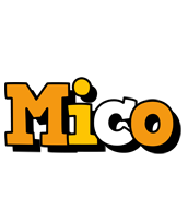 Mico cartoon logo