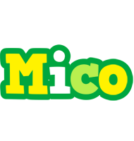 Mico soccer logo