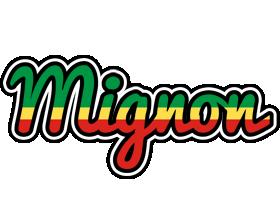 Mignon african logo