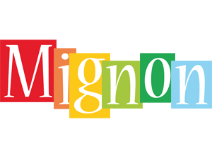 Mignon colors logo