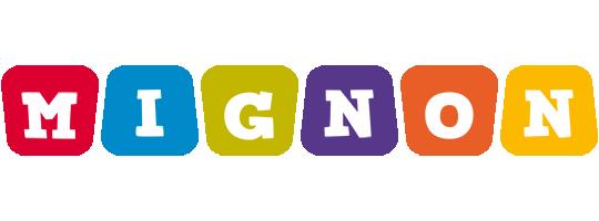 Mignon daycare logo