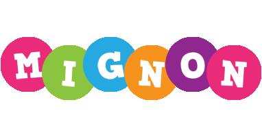 Mignon friends logo