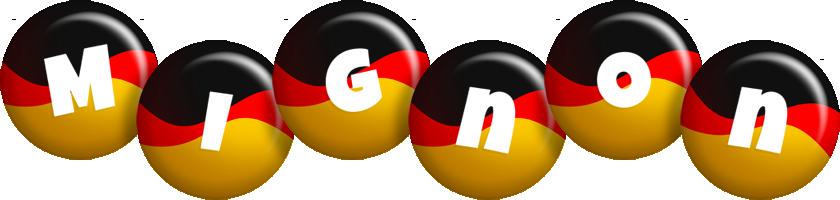 Mignon german logo