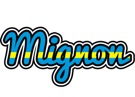 Mignon sweden logo