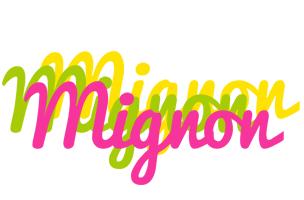 Mignon sweets logo