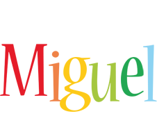 Miguel birthday logo