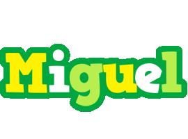 Miguel soccer logo