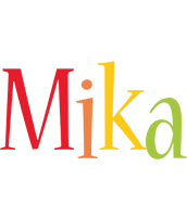 Mika birthday logo