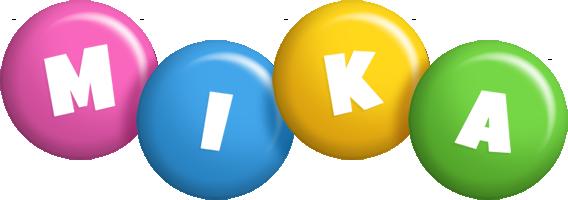 Mika candy logo