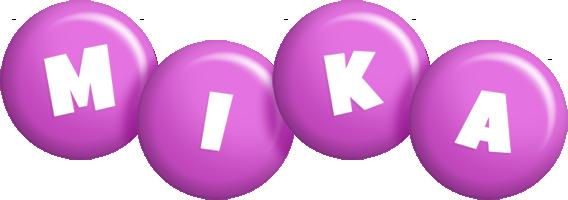 Mika candy-purple logo