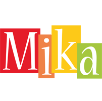 Mika colors logo